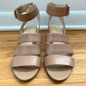 Nine West Nude Color Sandals